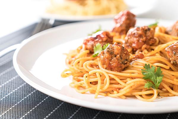 svéd húsgolyós spagetti